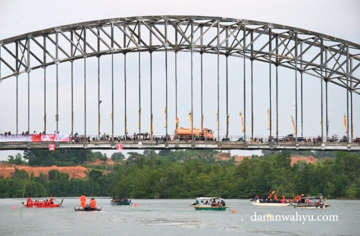 Jembatan sungai Carang , Tanjung Pinang - Kepulauan Riau