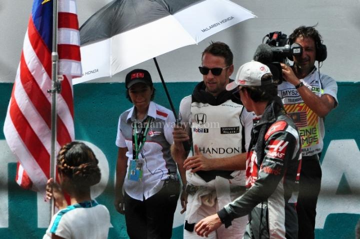 Daniel Ricciardo sebelum bertanding