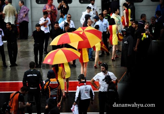 Dedek dedek hemes umbrella girl nggak kuat kehujanan lalu balik kanan