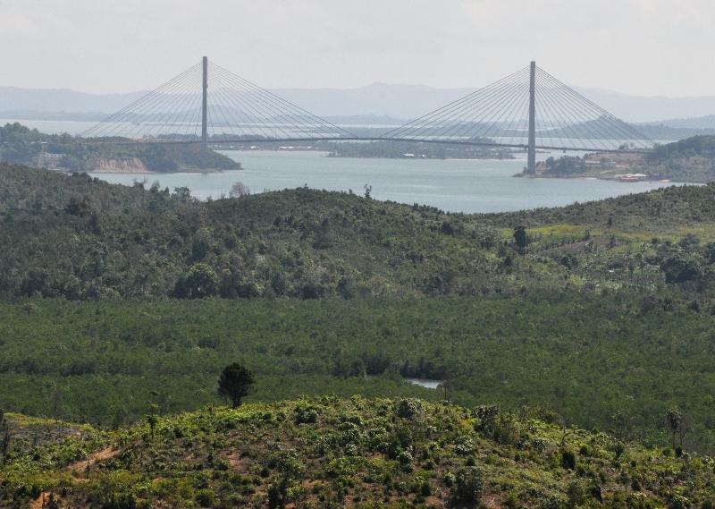 Batam Hidden View From Heli