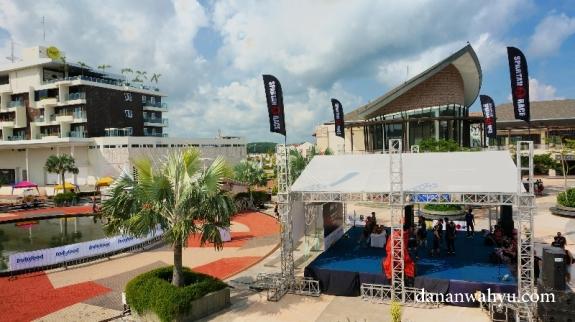 panggung utama Bintan Reebok Spartan Race 201