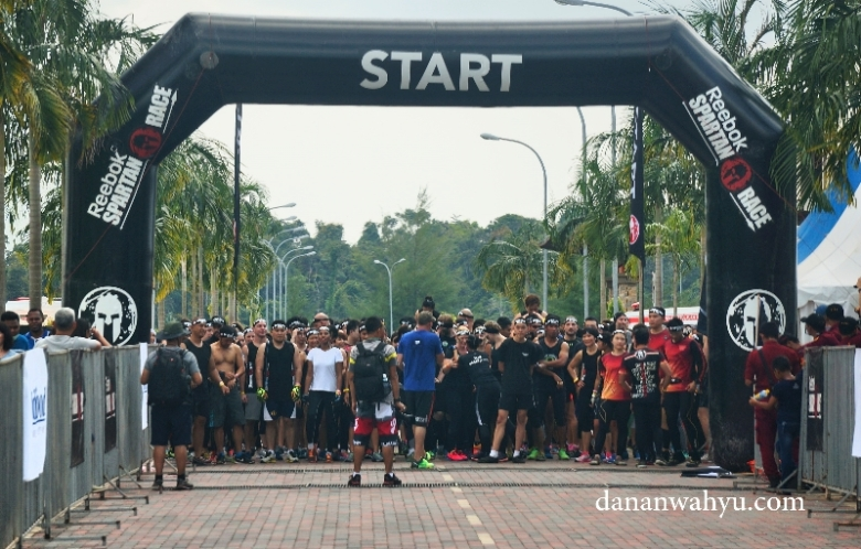 garis start Reebok Sparta Race 2016