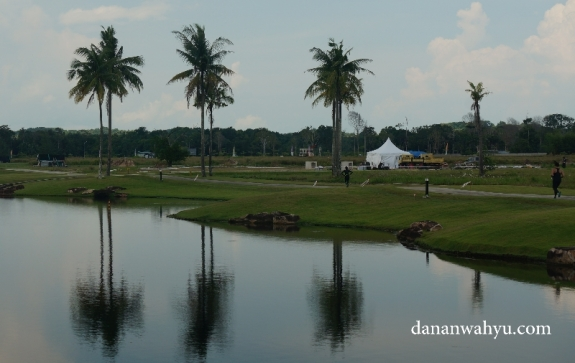 Kawasan wisata Plasa Lagoi Bintan tempat berlangsung Bintan Reebok Spartan Race 2016
