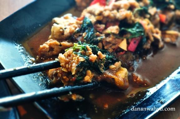 Terong Ala Thai paling enak dimakan dengan nasi hangat