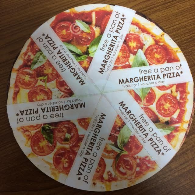 adakah yang mau voucher pizza gratis, saya masih punya satu jika berminat silakan komentar di kolom bawah.