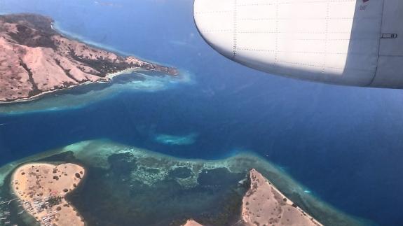 Rasanya sudah nggak sabar melihat gugusan pulau dari NTB sampai NTT