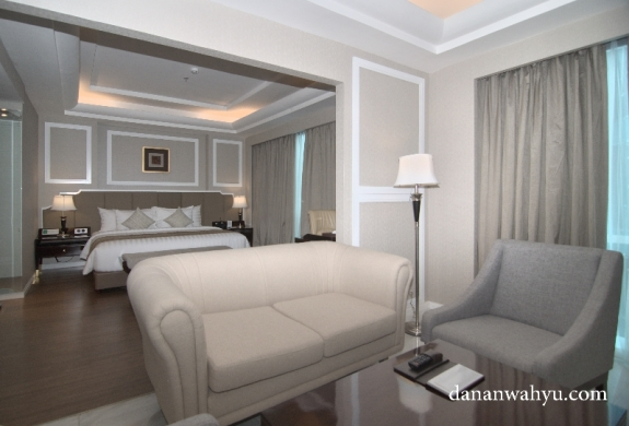 sofa besar di Executive Room
