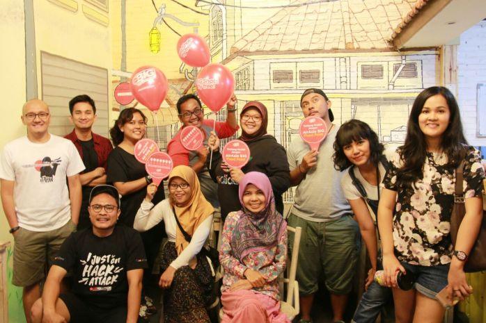 Ini loe arisan bersama blogger kece Indonesia