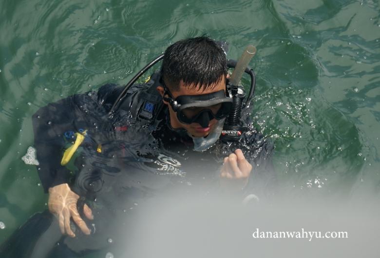 peserta sertifikasi Open Water Diver
