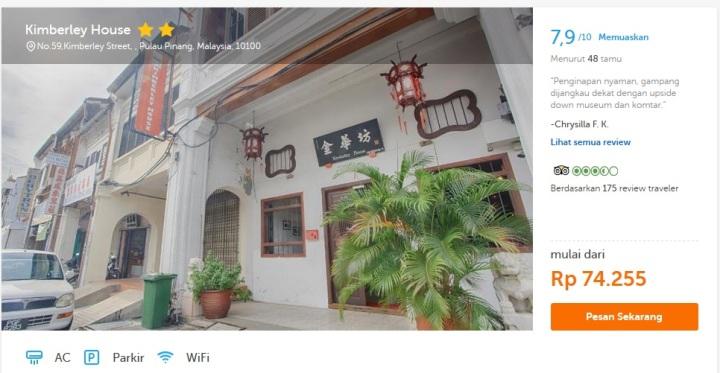 Ternyata hotel di Asia Tenggara bisa dipesan di traveloka dengan harga rupiah