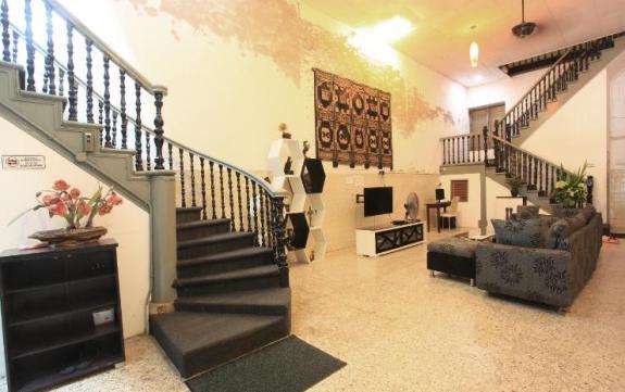 ruang tamu Kimberley House