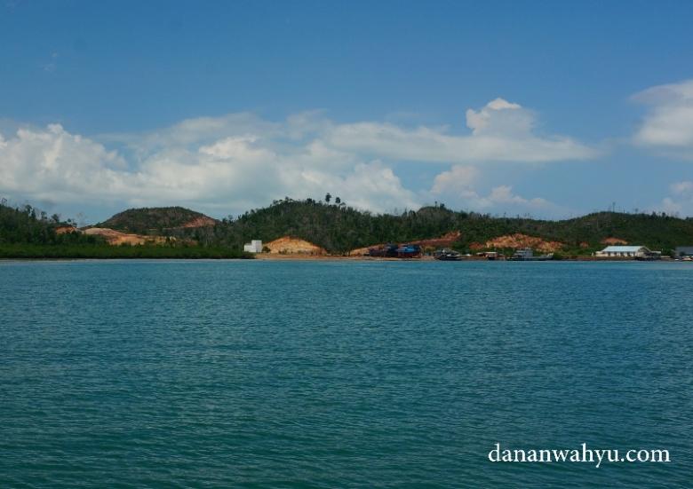Satu area pulau Petong yang akan dibangun resor