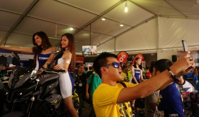 pameran motor di MotoGP Sepang 2016
