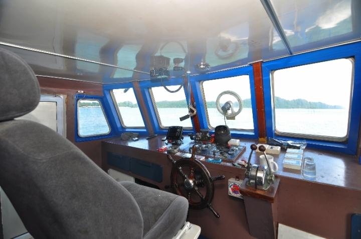 ruang juru kemudi kapal