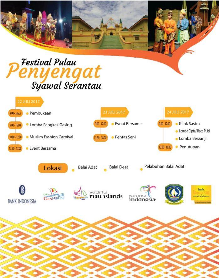Acara Puncak Festival Pulau Penyengat Syawal Serantau 2017