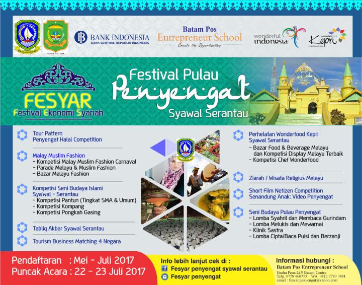 Festival Pulau Penyengat Syawal Serantau 2017
