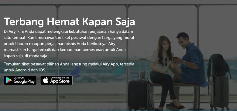 Sudahkah kamu menginstal aplikasi Airy di gadget kamu?