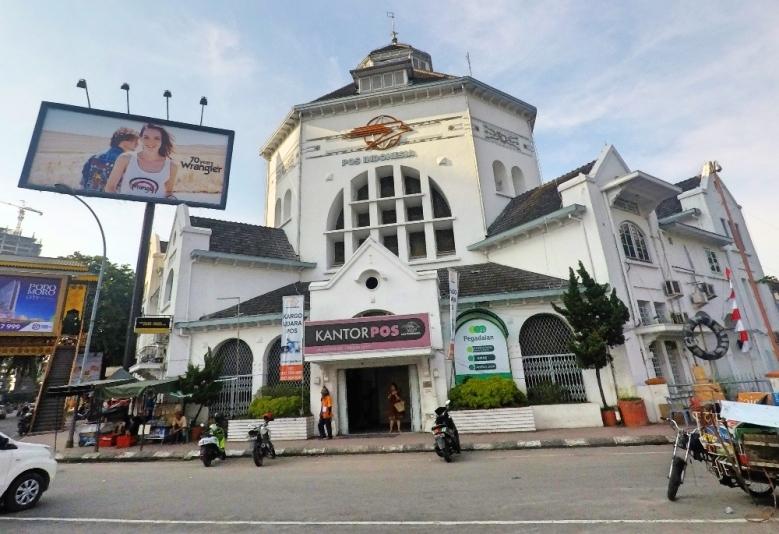 Kantor Pos dan Titik Nol kota Medan
