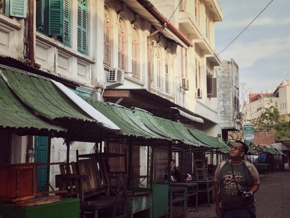 Pasar Hindu pusat jajanan pagi kota Medan yang instagram-able