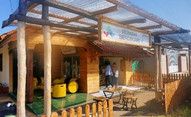 Rukari (Rumah Berdikari) Binaan CSR PT. Pertamina Balongan
