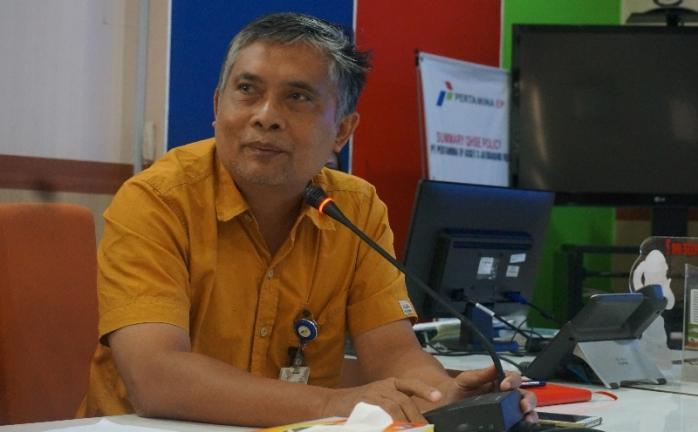 Bapak Herman Rachmadi, Jatibarang Field Manager