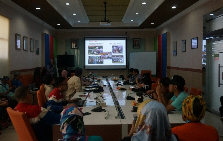 Menyambut Blogger di PT Pertamina EP 3 Asset Jatibarang Field