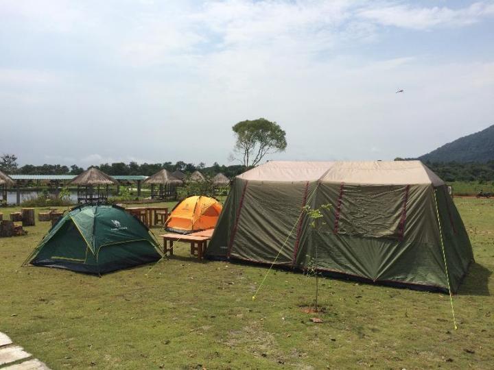 Tenda militer atau tenda dom, terserah pilihanmu
