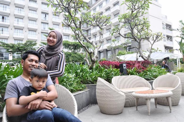 Coba ulas nilai lebih suatu hotel misal hotel cocok untuk liburan keluarga
