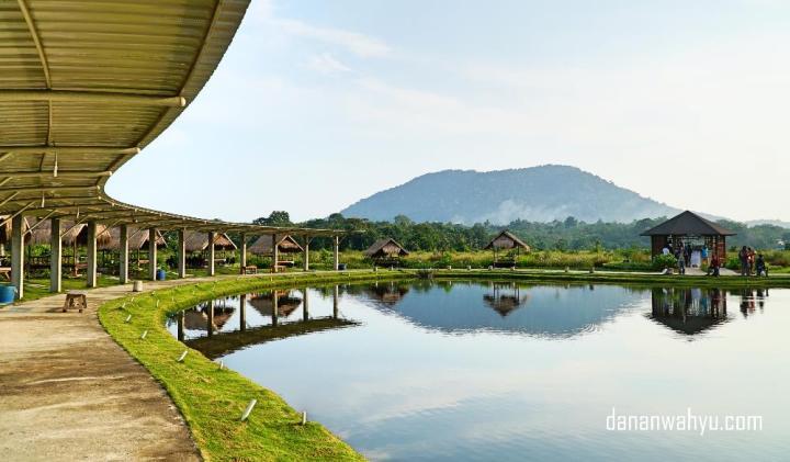 Pemandangan Gunung Bintan dari Poyotomo.