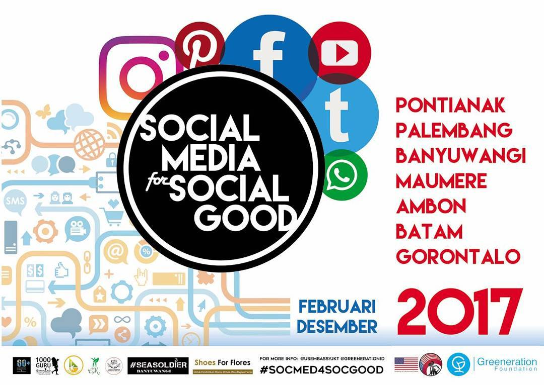 social media for social good batam