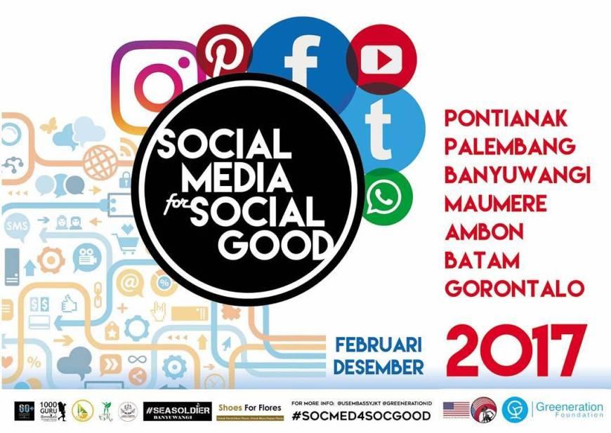 social media for social good batam