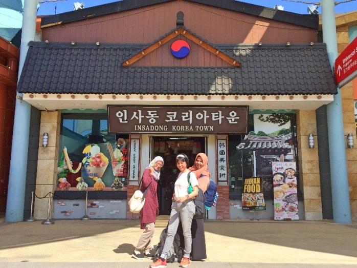 Ye... Kita sudah sampai Korea aja!