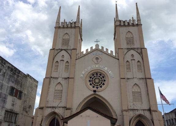 Gereja yang didirikan oleh Franciscus Xaverius.