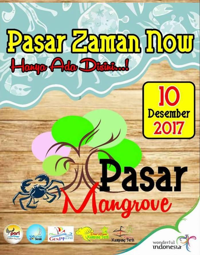 Buat kamu yang penasaran di tanggal 10 Desember 2017 akan berlangsung pasar Mangrove di Desa Wisata Pantai Terih