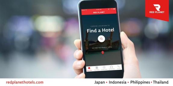 Untuk memudahkan pemesanan hotel dan memudahkan perjalanan instal aplikasi Red Planet