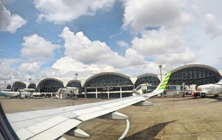 Selamat datang di bandara Sultan Hasanuddin