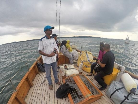 Prakash Reddy Marina & Water Sports Manager.