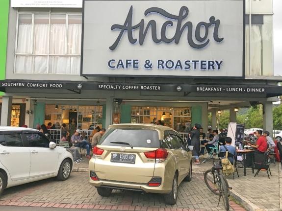 Anchor Cafe & Roastory tempat berlangsungnya Roadshow to Bajafash