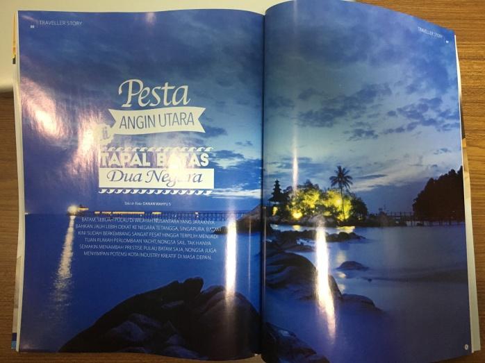 Pesta Angin Utara di Tapal Batas Dua Negara terbit di Inflight Magazine