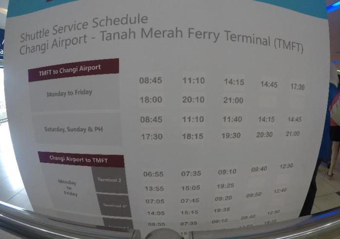 Jadwal shuttle bus, jangan memaksakan menunggu bus jika waktu tak cukup
