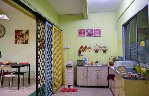 Dapur dan ruang makan selalu rapih
