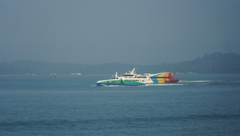 Penyebrangan Kapal Feri Batam Johor Bahru