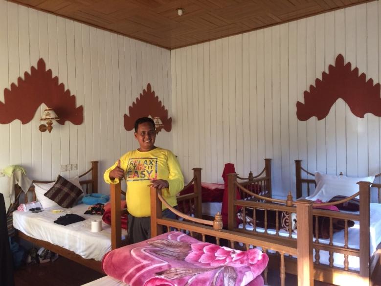 Kamar kami di Inle Lake