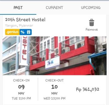 hotel di Myanmar sewa dibagi 4