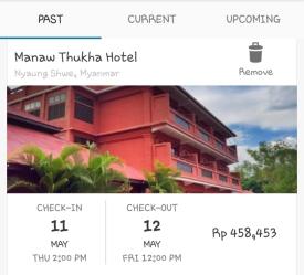 hotel di inle lake sewa dibagi 4