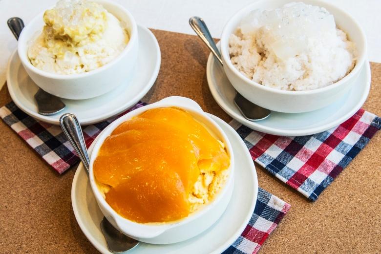 Dessert tradsional Hong Kong berbahan dasar buah ( Sumber http://www.metrocity1.com)