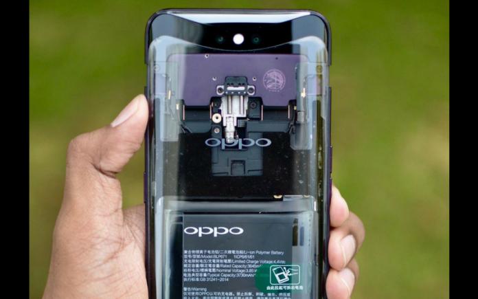 Ini lho rahasia mengapa kamera OPPO Find X tidak terlihat