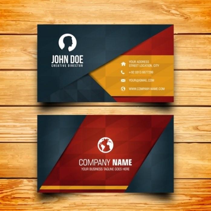 Dengan kartu nama calon klien akan mudah menghubungi