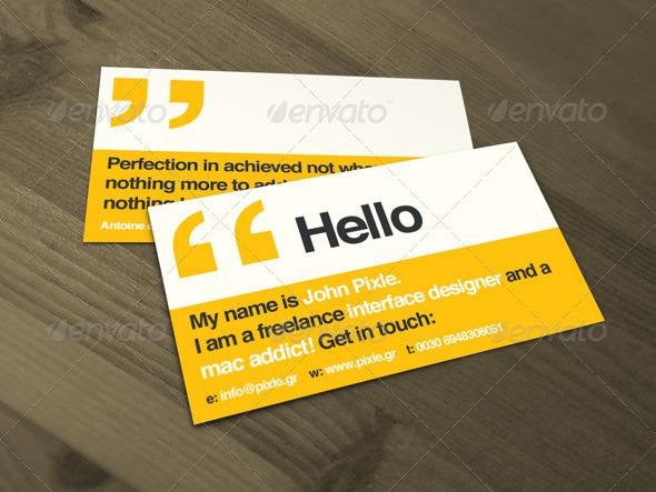 Mari mengenal jenis kertas untuk membuat kartu nama