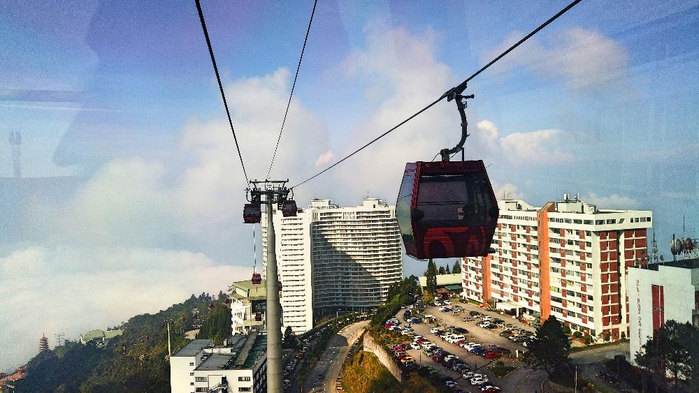 kereta gantung genting malaysia